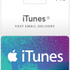 $15 USA iTunes Gift Card (Email Delivery)