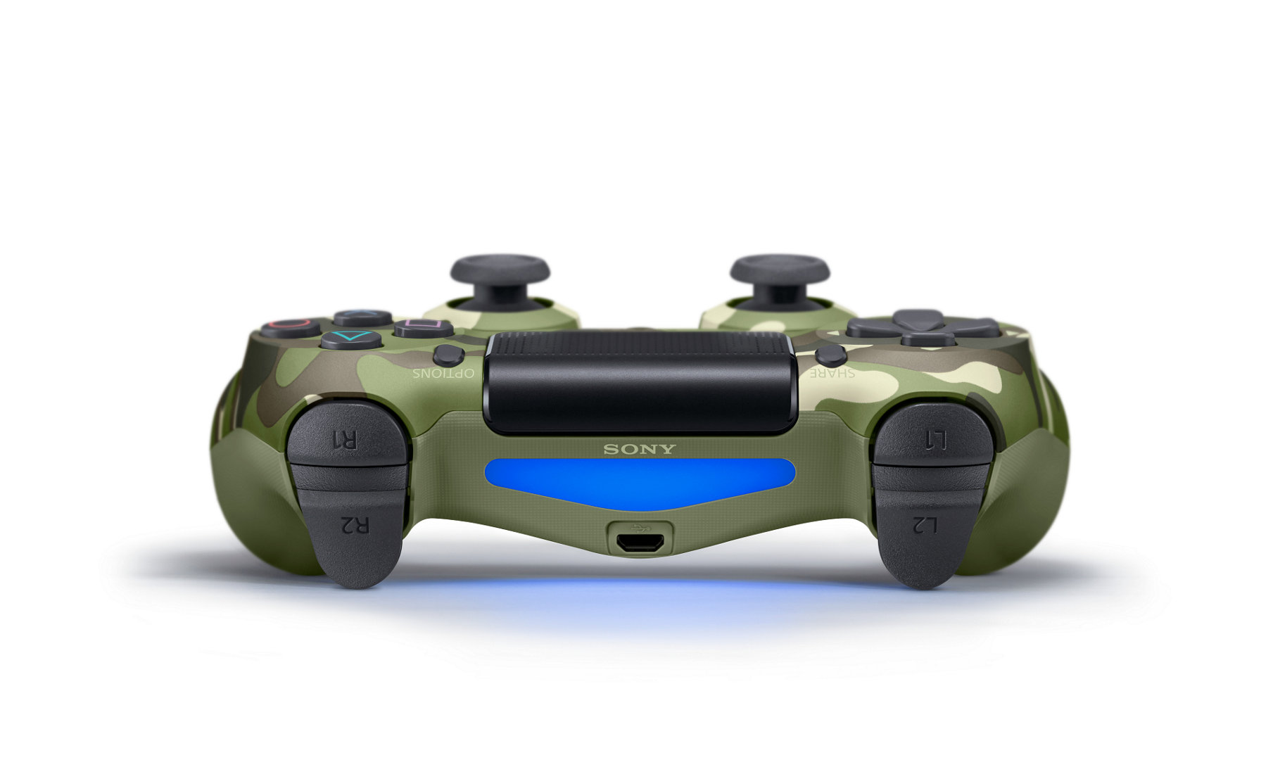 PlayStation 4 DualShock 4 Wireless Controller – Green Camouflage