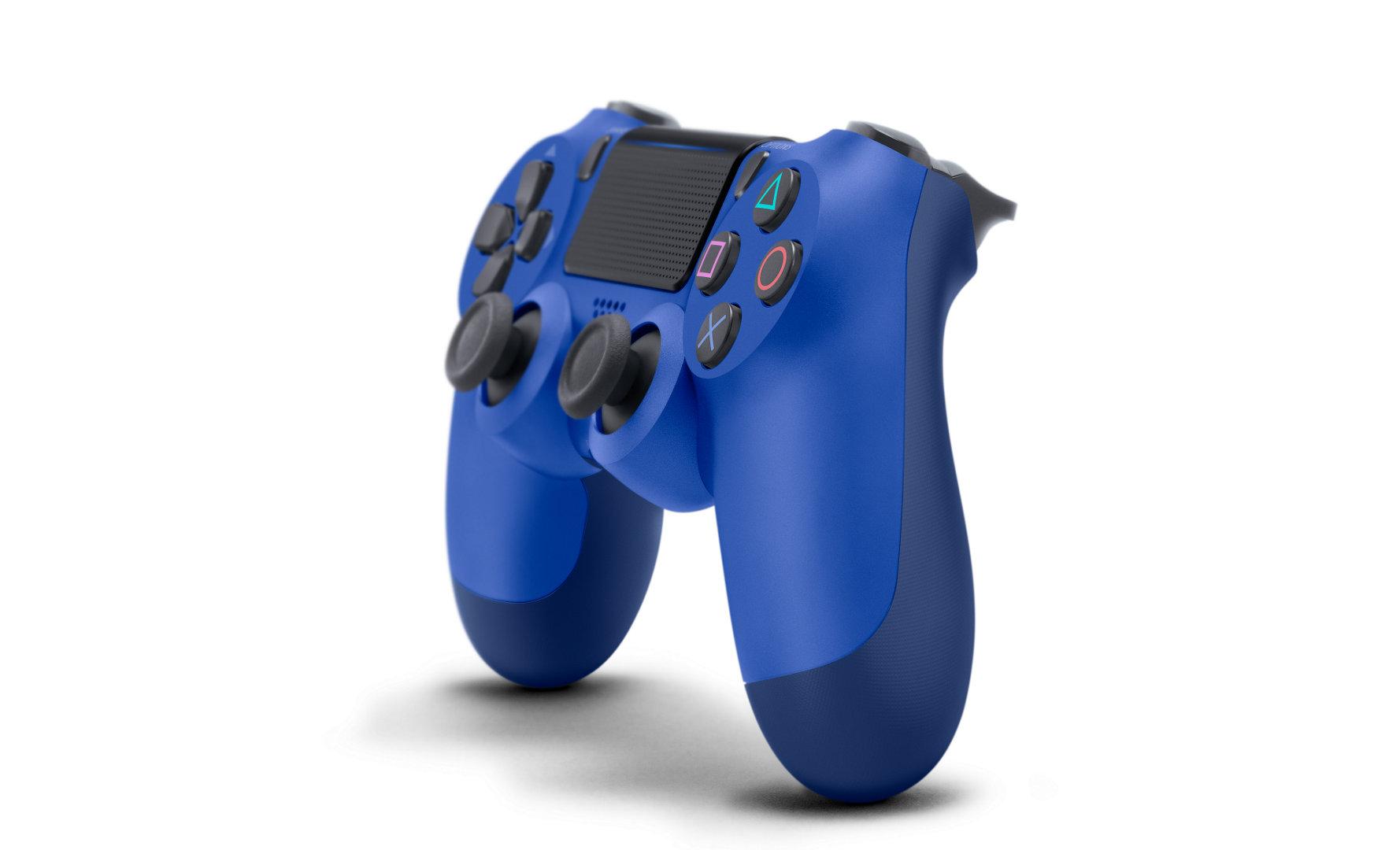PlayStation 4 DualShock 4 Wireless Controller – Wave Blue