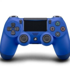 PlayStation 4 DualShock 4 Wireless Controller – Wave Blue